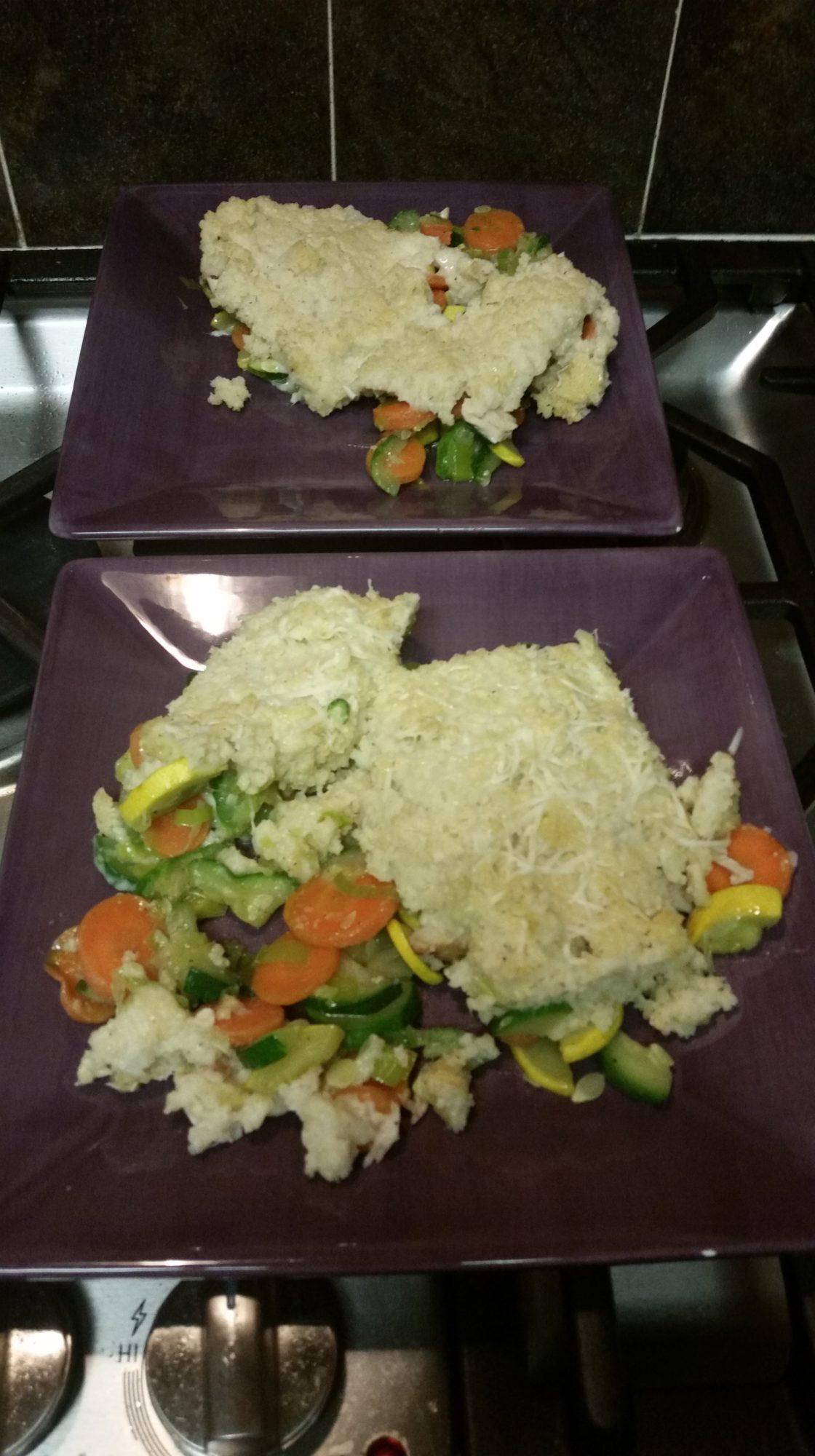 Millet and Cauliflower Shepherd's Pie