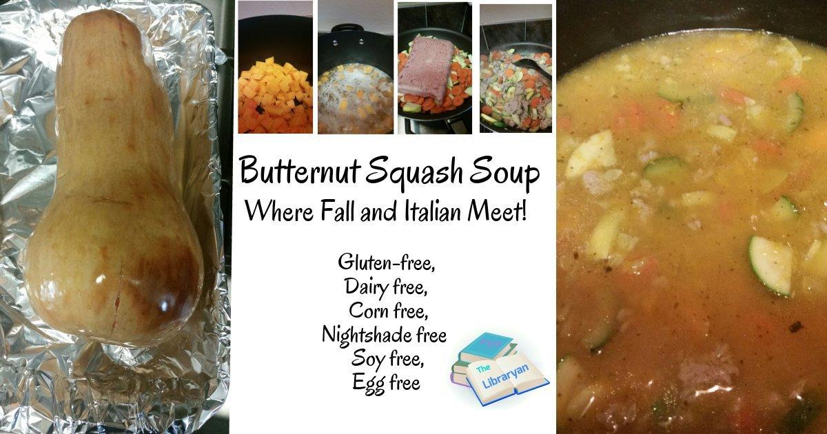 Butternut Squash Italian Soup