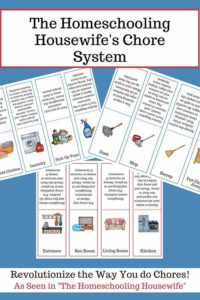 Homeschooling Housewife Chore system