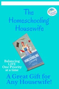 Homeschooling Housewife Book. Read this if you want to know how to be a good housewife