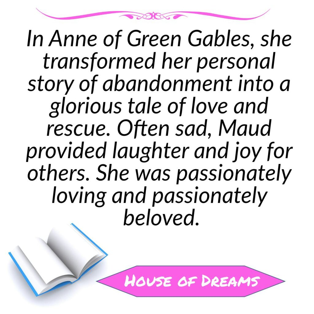 House of Dreams LM Montgomery quote