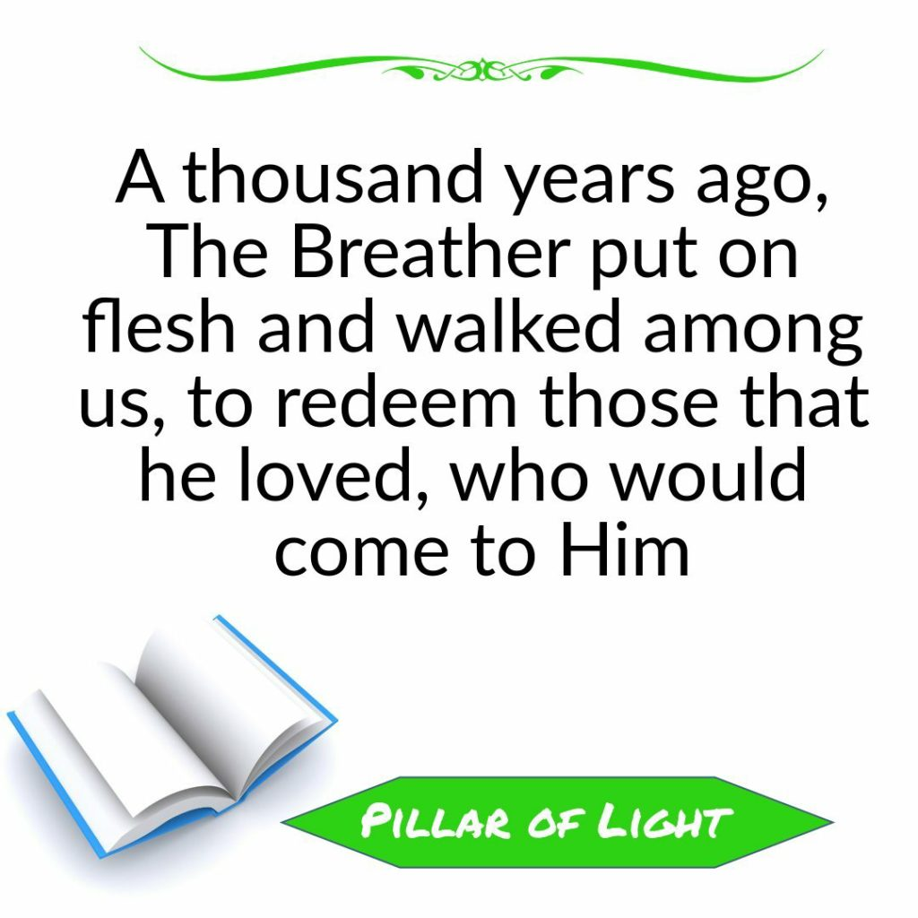 Pillar of Light Quote (Christian Allegories)