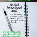 Genesis 8:1 But God Remembered Noah