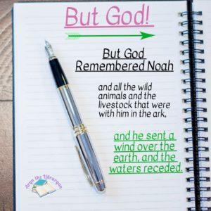 Genesis 8:1, But God Remembered Noah