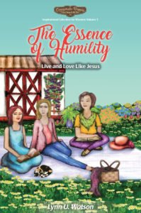 Picnic scene on the Essence of humility book cover