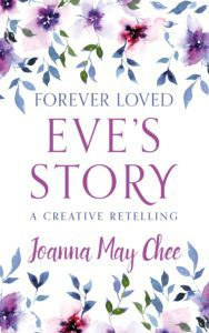 Flowers, forever loved Eve's story book cover.