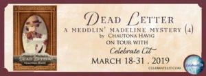 Dead Letter Book tour with Celebrate Lit