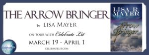 The Arrow Bringer book tour Banner