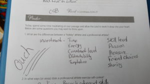 Discipleship study notes
