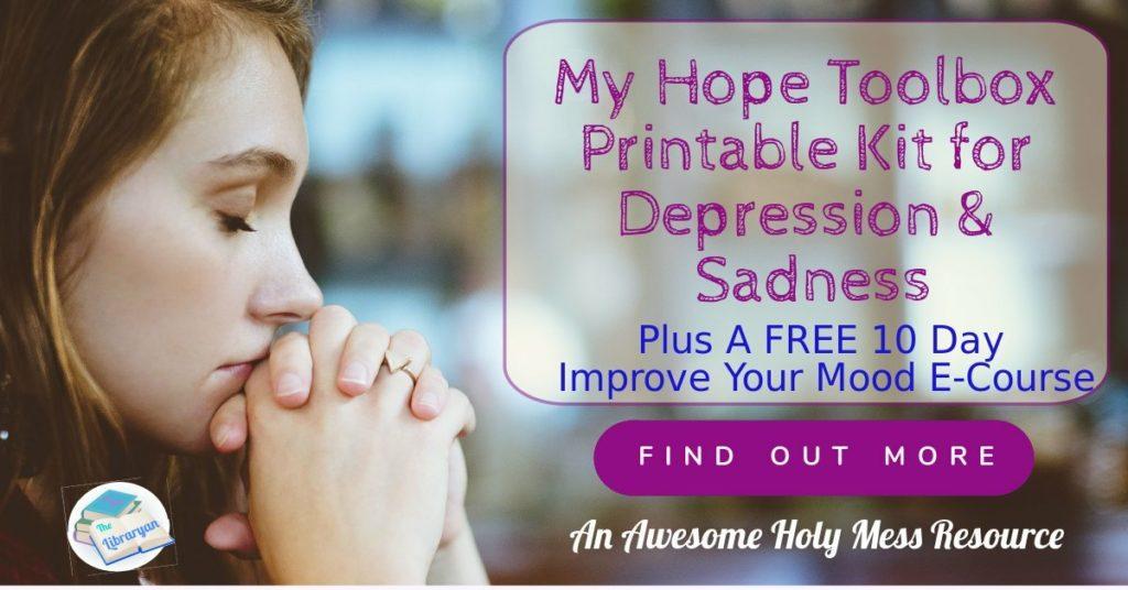 Woman praying, finding hope