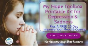 My Hope Toolbox. Finding hope in God