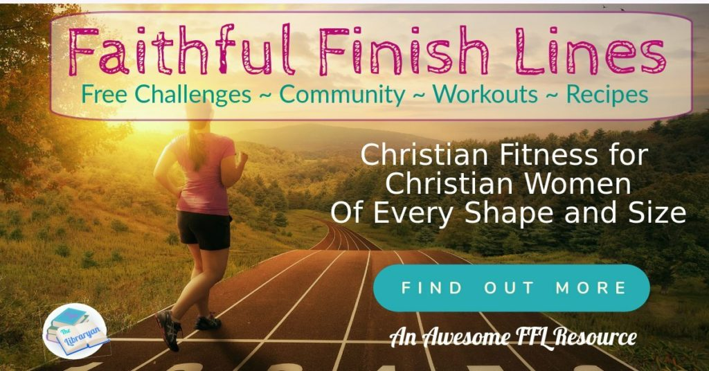 Woman jogging at sunset. Faithful Finish Lines Christian fitness for Christian Women.