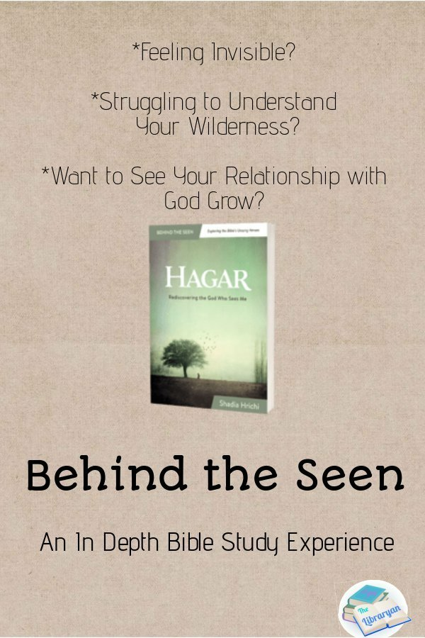 Go Behind the Seen in this Hagar Bible study