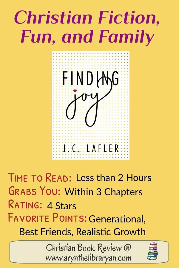 Finding Joy: Christian Fiction, Fun and Family. 2 Hours, 5 stars, Finding Joy in the Lord
