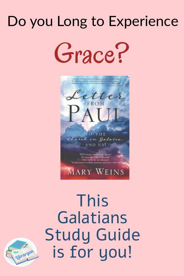 Do you Long to experience grace? This Galatians Study Guide is for you.