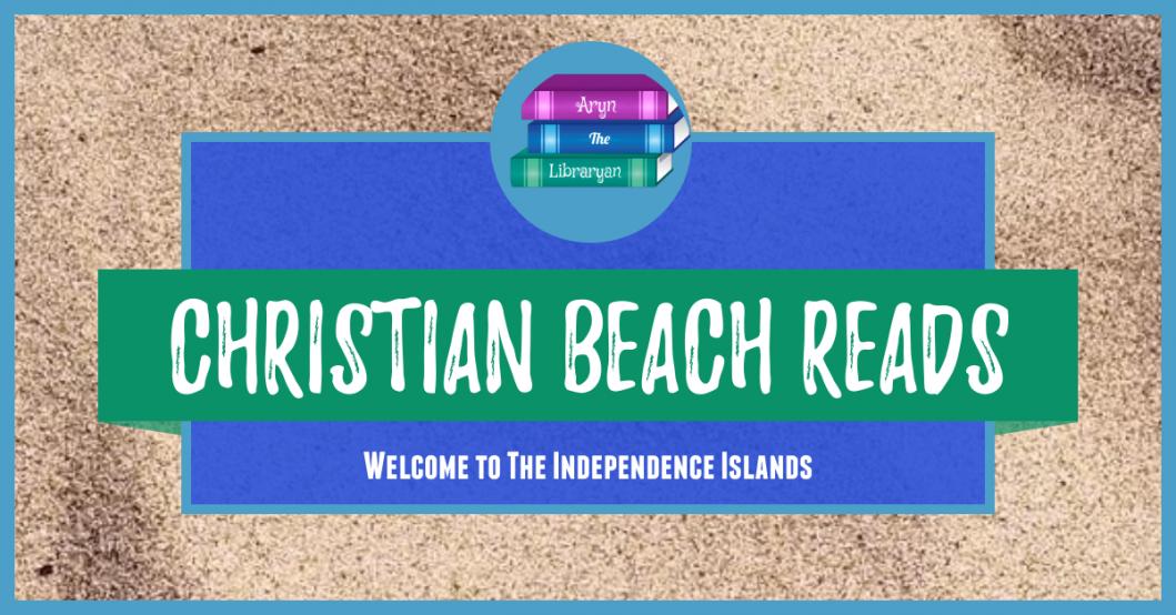 Christian Beach Reads on a sandy background