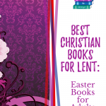 Best books for lent, purple and white background