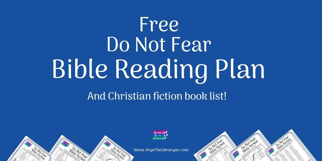 Do not fear bible reading plan
