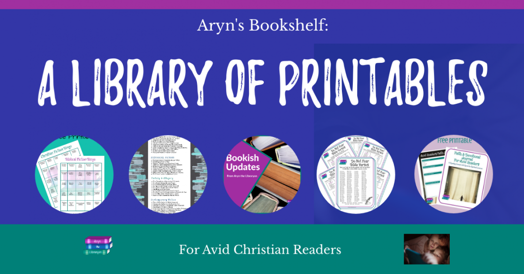 A library of printables for Avid Christian readers