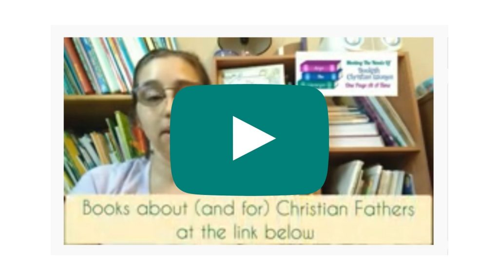 Youtube still shot, Books about, and for, Christian fathers
